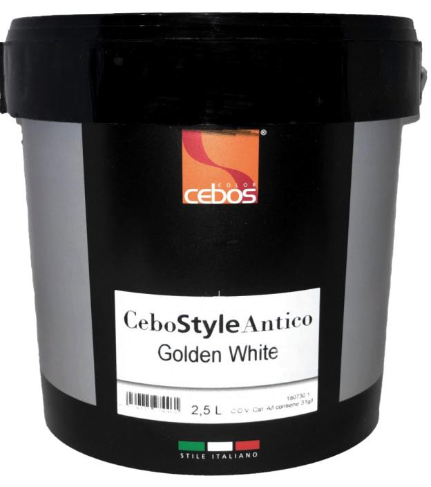 CeboStyle Antico Golden White 2,5 Liter