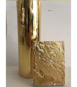 Metallfolie für ca 9 m² Gold